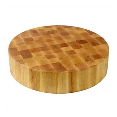 BoosBlock Round Maple Butcher Block Cutting Board