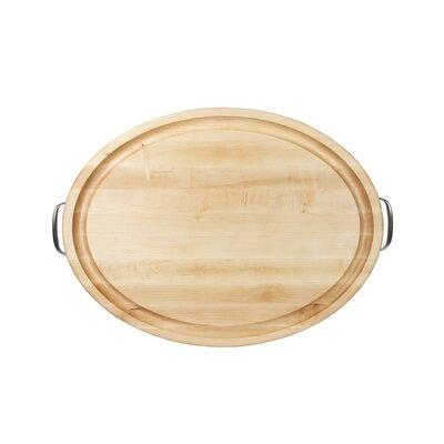 John Boos Gift Oval Handles Board
