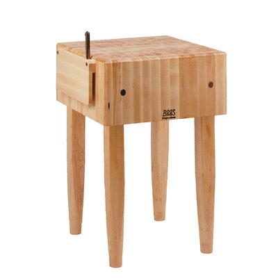 John Boos Pro Chef Prep Table with Butcher Block Top