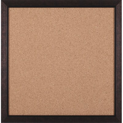 "Art Effects Modern Square Brown Cork Board - 27"" x 27"""