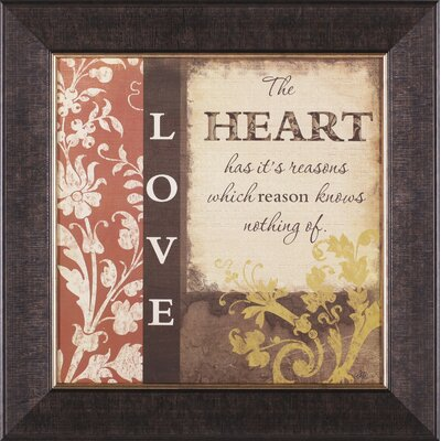 Art Effects Love Framed Artwork