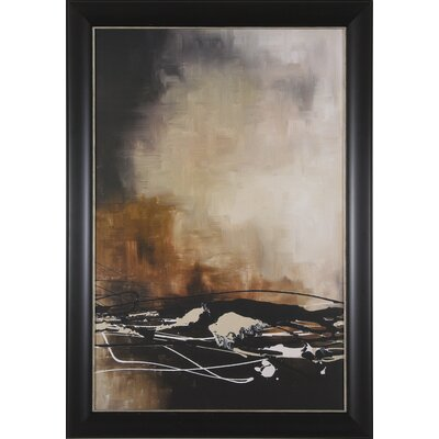 Art Effects Tobacco and Chocolate II Framed Artwork