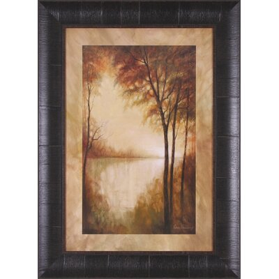 Landscape Tranquility I and II by Ruane Manning Framed Painting Print