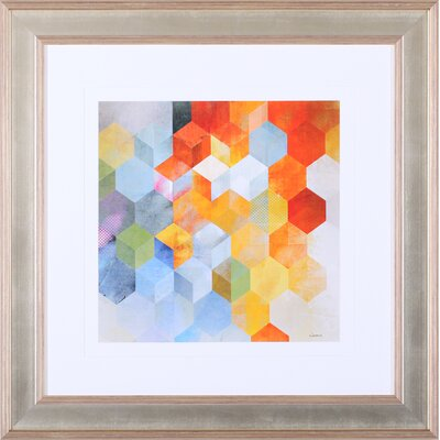 Art Effects 'Cubitz I' by Noah Li-Leger Framed Graphic Art