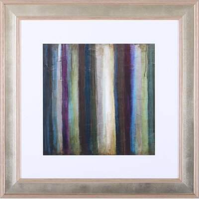 Art Effects 'Striations I' by Wani Pasion Framed Painting Print