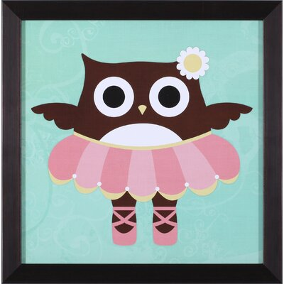 Art Effects Ballerina Owl Wall Art
