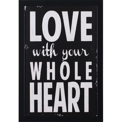 Art Effects Whole Heart Wall Art