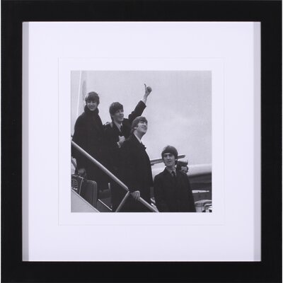 The Beatles I and VI by British Pathe Framed Photographic Print