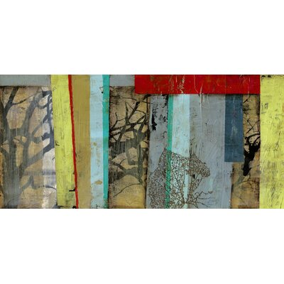 Woven Landscape I and II by Jennifer Goldberger Painting Print on Canvas
