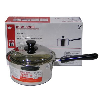 Lins Homewares 20 cm Stainless Steel Saucepan