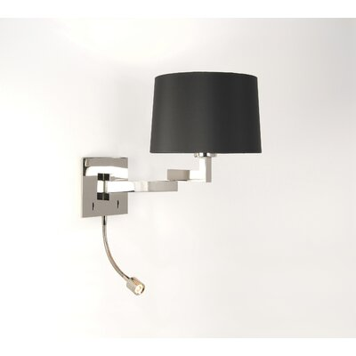 Astro Lighting Momo 2 Light Swing Arm Wall Lamp with Reading Light