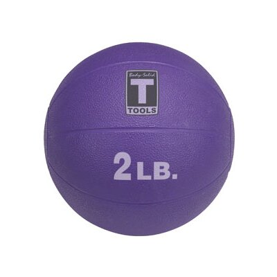 Body Solid Medicine Balls in Purple