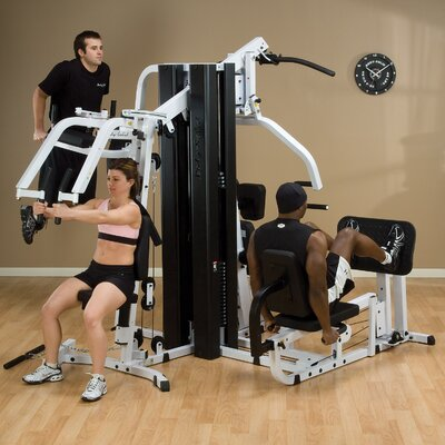 Body Solid Light Commercial 2 Stack Home Gym