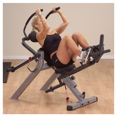 Body Solid Semi-Recumbent Ab Gym