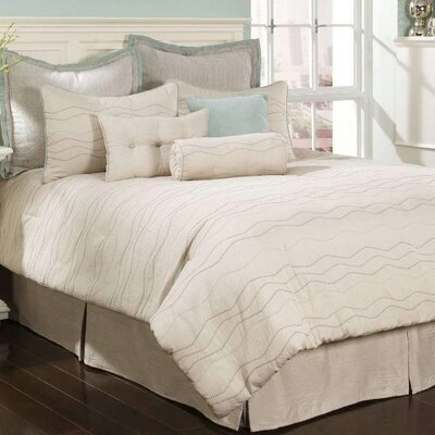 Chelsea Frank Group 7 West  Mercer Spa 4 Piece King Comforter Set