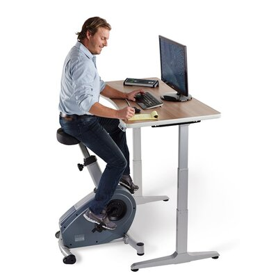 LifeSpan Fitness Standing Desk Upright Bike