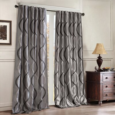 <strong>JLA Home</strong> Serendipity Rod Pocket Window Curtain Single Panel