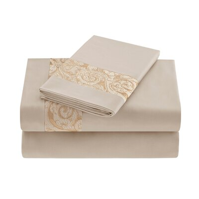Natori Gobi Palace 400 Thread Count Sheet Set