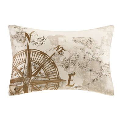 Summer Beach Oblong Cotton Pillow