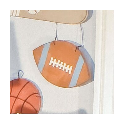 All Star Football Wall Hanging