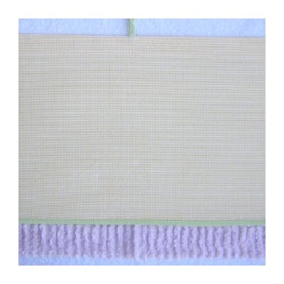 Brandee Danielle Froggy Lavender Cotton Blend Curtain Valance