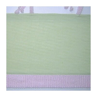 Brandee Danielle Froggy Pink Cotton Blend Curtain Valance