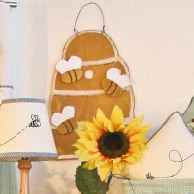 Brandee Danielle Bee My Baby Bee Hive Wall Hanging