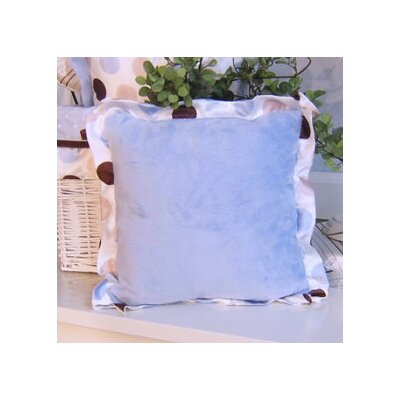 Ash Pillow with Polka Dot Trim