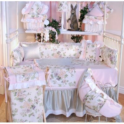 Brandee Danielle Flower Medley Crib Bedding Collection