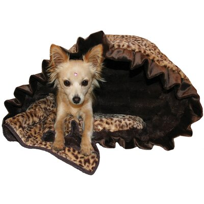 Snuggle Bug Reversible Cheetah Pet Carrier