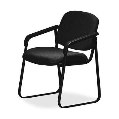 OSP Furniture Deluxe Sled Base Chair with Arms
