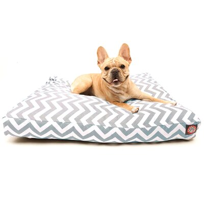 Majestic Pet Zig Zag Rectangle Dog Pillow