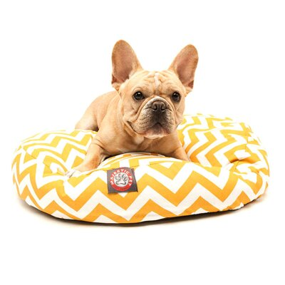Majestic Pet Products Zig Zag Round Dog Pillow