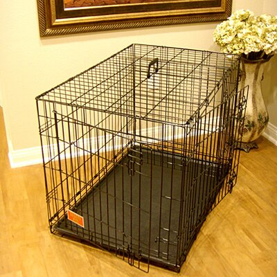 Majestic Pet Products Double Door Folding Pet Crate