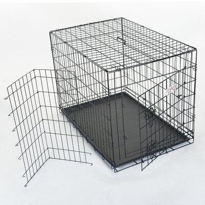 Majestic Pet Products Single Door Folding Pet Crate