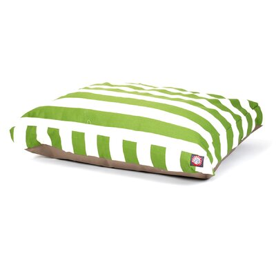 Majestic Pet Products Vertical Strip Rectangle Pet Bed