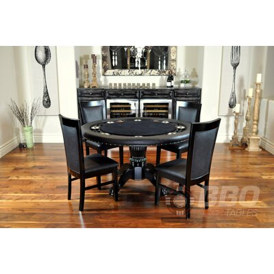 BBO Poker Nighthawk 6 Piece Dining Table Set