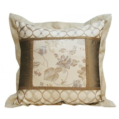 Melrose Home Valerie Square Flanged Pillow