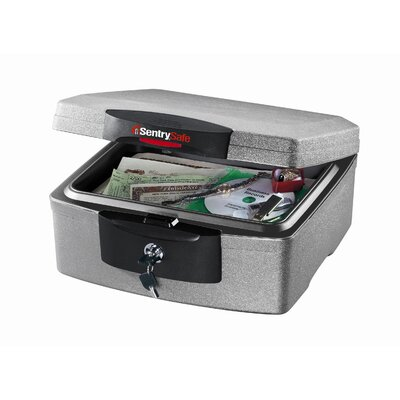 Sentry Safe Waterproof Fire Key Lock Chest
