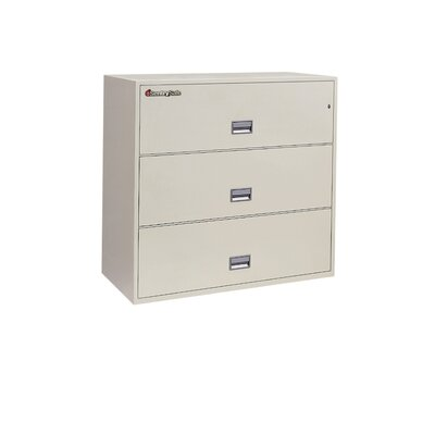 Sentry Safe Sentry®Safe 3-Drawer Fireproof Key Lock Letter File Safe