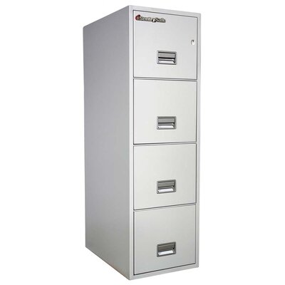 Sentry Safe 4 Drawer Insulated Vertical Fire File