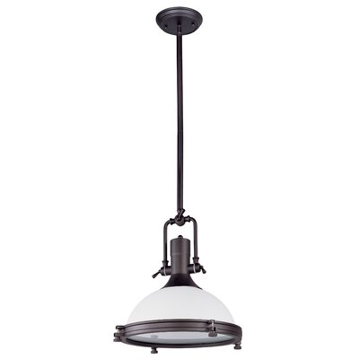 Wildon Home ® Hi-Bay 1 Light Inverted Pendant