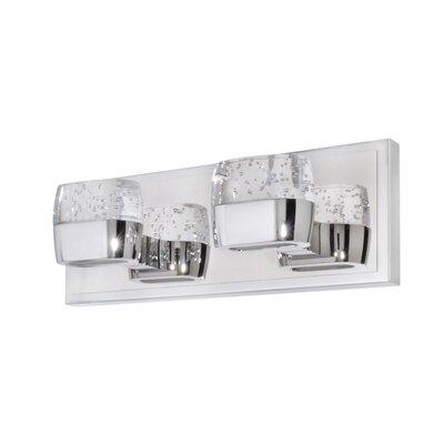 Wildon Home ® Volt 2 Light Bath Vanity Light