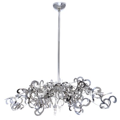 ET2 Tempest 9 Light Chandelier
