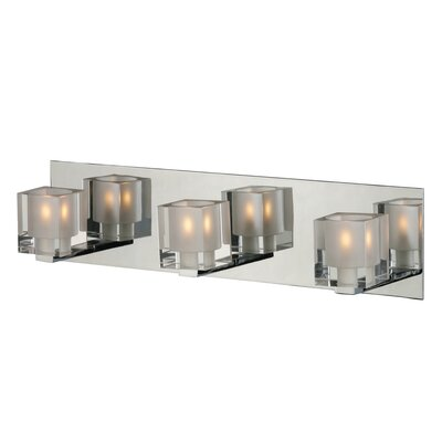 Wildon Home ® Speech 3 - Light Bath Vanity