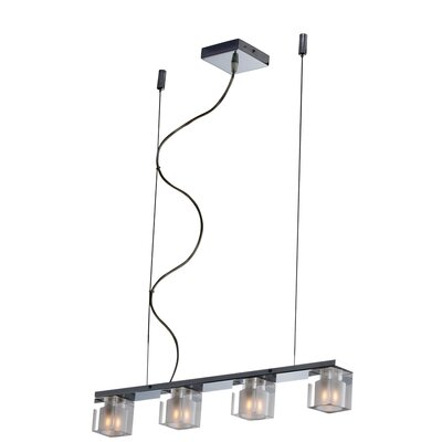 Wildon Home ® Speech 4 - Light Linear Pendant