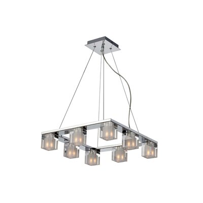 ET2 Blocs 8 Light Square Pendant