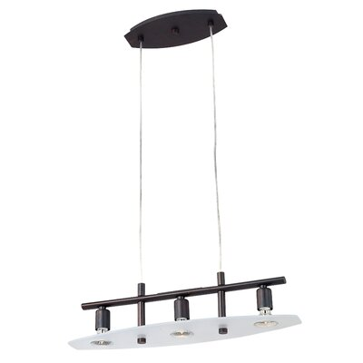 Wildon Home ® Nin 3 Light Kitchen Island Pendant