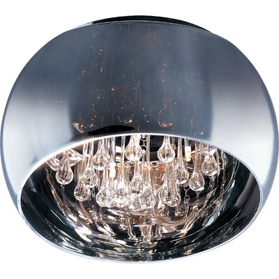 Wildon Home ® Satie 5 - Light Flush Mount
