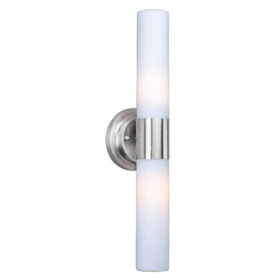 Wildon Home ® Bya 2 - Light Wall Sconce